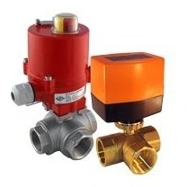 Electric 3-Way Ball Valve - Tameson