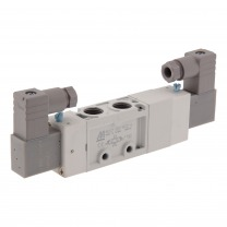5/3-way pneumatic solenoid valves