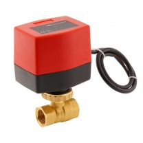 brass electric ball valves