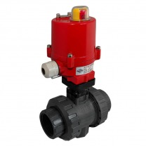 PVC electric ball valves