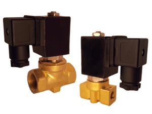 Solenoid Valve for Hot Water and Steam Applications